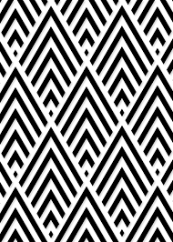 graphic pattern printable black and white wall art print for the