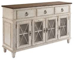 american drew southbury sideboard fossil tops and parchment bases