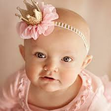 newborn headband 2017 newborn headbands pearl crown headwear diy jewelry