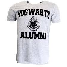 hogwarts alumni tshirt harry potter hogwarts alumni grey t shirt official licensed