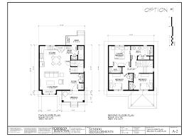 100 floor plan two storey open concept kitchen living room