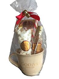 hot cocoa gift set godiva chocolate hot cocoa and toppings gift set