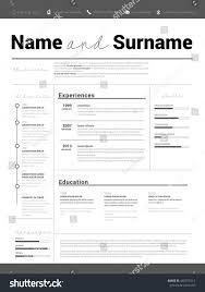 Minimalist Resume Curriculum Vitae Resume Template Business Resume Web Designer