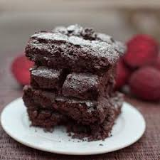 chocolate beetroot brownies dessert recipes from riverford