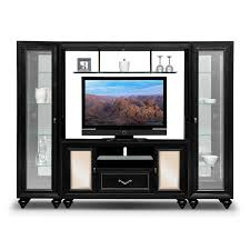 Corner Bedroom Furniture Units by Paradiso 4 Pc Entertainment Wall Unit American Signature