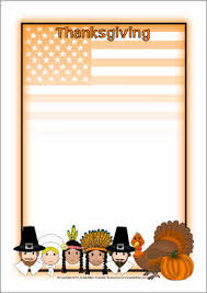 thanksgiving a4 page borders sb3309 sparklebox