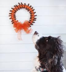 thanksgiving dog fall dog treat wreath tutorial growing up bilingual