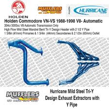commodore vn vs v8 5 0l for direct fit use y pipe hu272ypa auto or