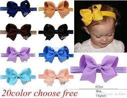 the ribbon boutique wholesale infant bow headbands 4inch grosgrain ribbon boutique