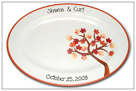 wedding signing plate glorious fall colours wedding signature platter serendipity crafts