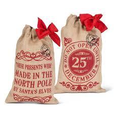 32 best santa sacks santa bags u0026 christmas gift bags images on