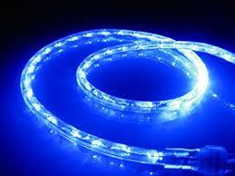 18ft rope lights blue led rope light kit 1 0