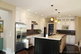 Overhead Kitchen Lights by Kitchen Light Pendants Kitchen White Glass Pendant Light Red