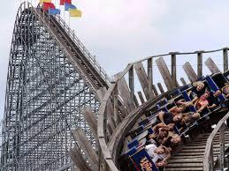 100 backyard roller coaster six flags roller coaster breaks