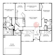 cottages floor plans bluffton cottage floorplan 2050 sq ft sun city