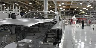 tesla factory tesla u0027s mind blowing change in strategy business insider
