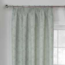 Duck Egg Blue Damask Curtains Opulence Duckegg Damask Jacquard Luxury Pencil Pleat Curtains