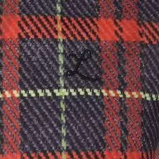 Lafamillia Tartan Print T Shirt Masdings