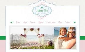 wedding planner website isle wedding planner site intercoastal net designs