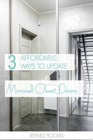 closet images design solutions for outdated mirrored closet doors