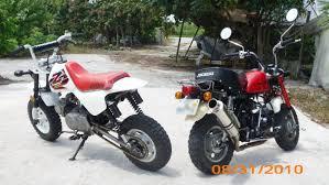 fs 2000 jincheng panda funrider and 1999 honda z50r
