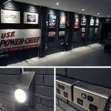 home garage interior ideas black and grey wall paint colors for