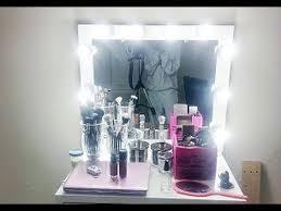 How To Build A Vanity D I Y Lighted Vanity Mirror Youtube