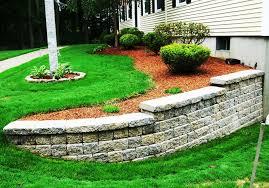 decorative landscape stone retaining wall u2014 indoor outdoor homes