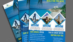 travel brochure templates free download free travel brochure