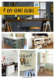 Craft Desk Diy 7 Diy Craft Desks Everythingetsy