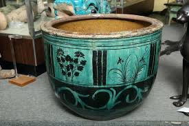 antique large ceramic planters outdoor decorations large ceramic
