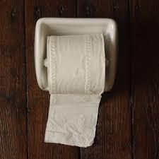 roll holder porcelain