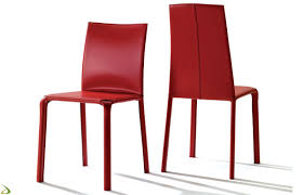bontempi sedia sedia in cuoio moderna di bontempi arredo design