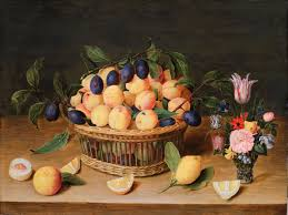 fruit and flowers still with fruit and flowers jacob hulsdonck famsf