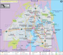 florida highway map jacksonville map jacksonville florida map