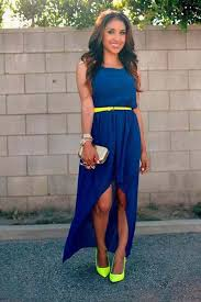 blue dress what accessories to combine cobalt blue dress photography