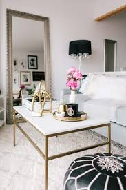 marble gold coffee table 18 white marble coffee tables we love