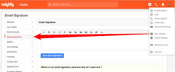 adding a hosted image to your custom email signature u2013 insightly