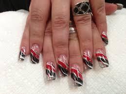 red black and white nail designs newyorkfashion us
