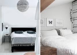 chambre noir blanc une chambre en noir et blanc joli place