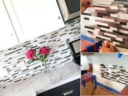 tile sheets for backsplash kitchen kitchen ideas mosaic glass