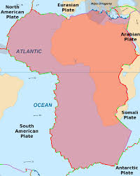 African Countries Map African Plate Wikipedia