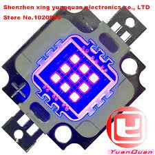 led uv light bulbs aliexpress buy high power 10w led chip 15lm 20lm 390 400nm
