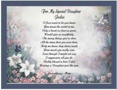 daughter personalized poem gift for birthday christmas trish u0027s