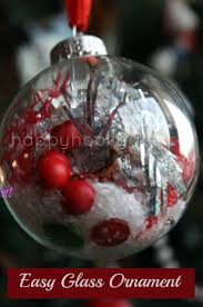 clear christmas ornaments decorated clear glass christmas balls happy hooligans