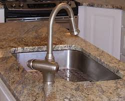 brushed nickel faucet with stainless steel sink homey inspiration brushed nickel kitchen faucet with stainless steel