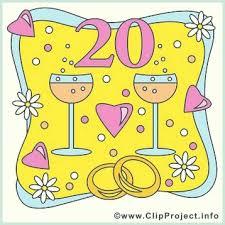 1 j hriger hochzeitstag 20 hochzeitstag 20 jahre jubiläum symbol lepid