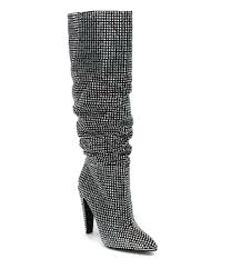 s dress boots steve madden crushing rhinestone dress boots dillards