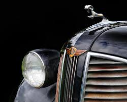 1938 dodge ornament photograph by dave mills