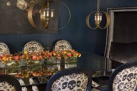 Dark Dining Room Get The Romantic Mood With Dark Blue